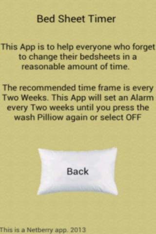 Bed Sheet Timer