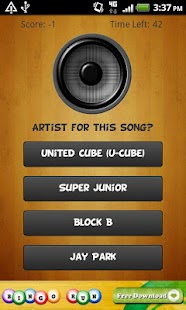 Kpop Music Quiz (K-pop Game)- screenshot thumbnail