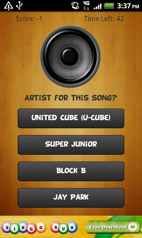 Kpop Music Quiz (K-pop Game)- screenshot