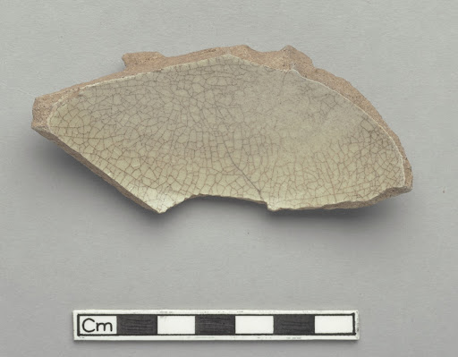 Sherd showing base, footrim and lower body