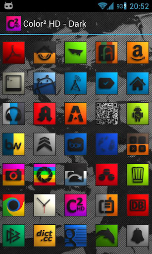 Iconset: Color HD - Black