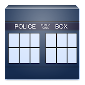 Animated TARDIS Widget