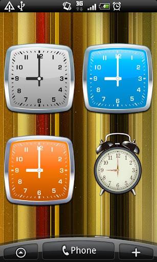 玩免費個人化APP|下載完全版シンプルなアナログ時計ウィジェット(目覚まし時計付き) app不用錢|硬是要APP