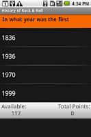 Screenshot of History of Rock & Roll: Shmoop