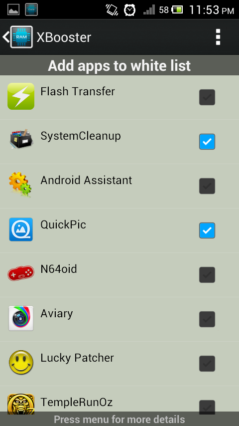 XBooster *ROOT* - Smart app - screenshot