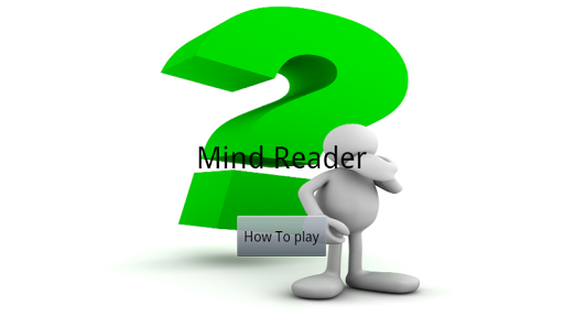 Mind Reader Magic