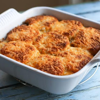 Tex-Mex Beef and Biscuit Casserole.