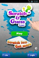 Screenshot of Scratch and Guess Logo