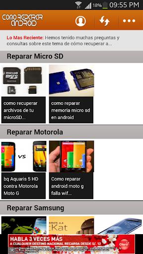 Como Reparar Celular