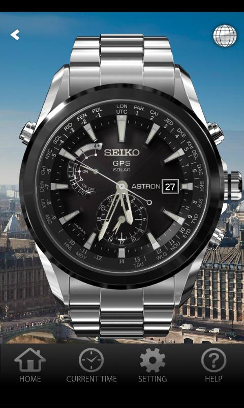 SEIKO ASTRON - screenshot
