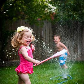 Fun in the Sun by Kellie Jones - Babies & Children Children Candids ( , Hope )
