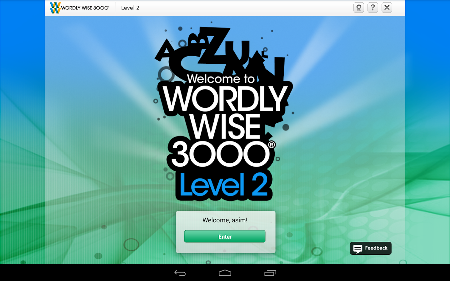 Wordly Wise 3000® Online - screenshot