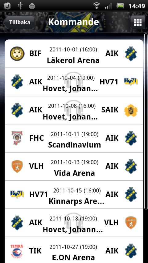 AIK Rinkside- screenshot