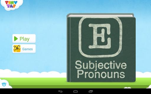 English for Kids: Pronouns 1
