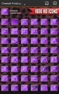 Complete Cheetah Purple Theme- screenshot thumbnail