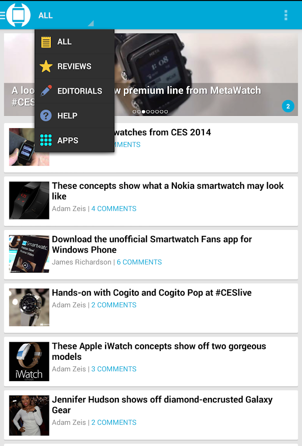 Smartwatch Fans - The App! - screenshot