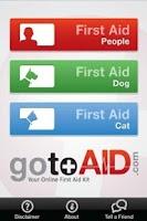 Screenshot of GotoAID First Aid