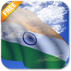 3D India Flag Live Wallpaper icon