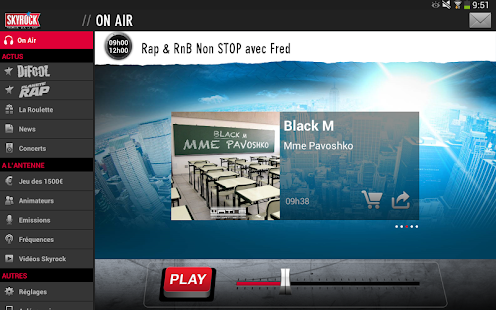 Skyrock- screenshot thumbnail