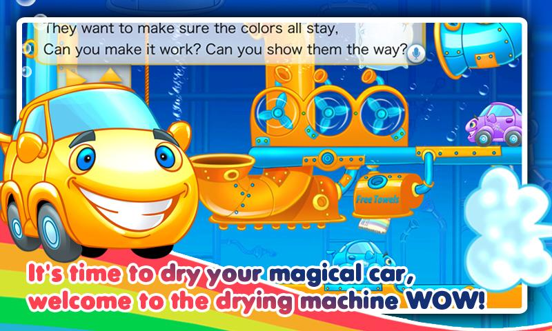 Rainbow Cars! Kids Colors Game- screenshot