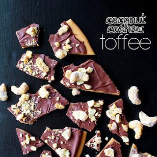 Coconut Cashew Toffee