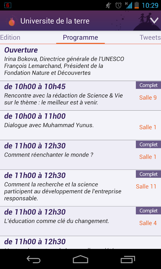 Université de la Terre 2013- screenshot