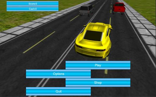 3D Traffic Racer