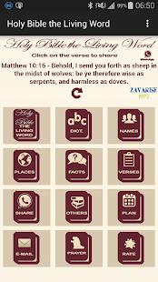 The Holy Bible the Living Word - screenshot thumbnail