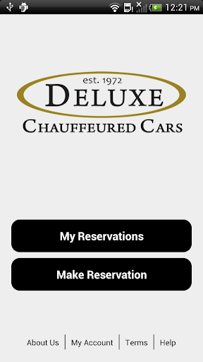 Deluxe Car Reservation