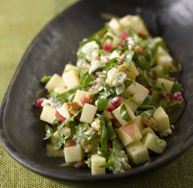 Chopped Apple Salad Recipe