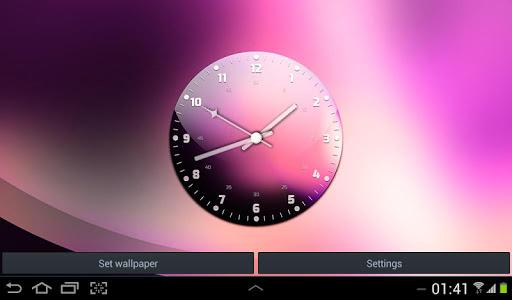 個人化必備APP下載|Clock Live Wallpaper Free 好玩app不花錢|綠色工廠好玩App