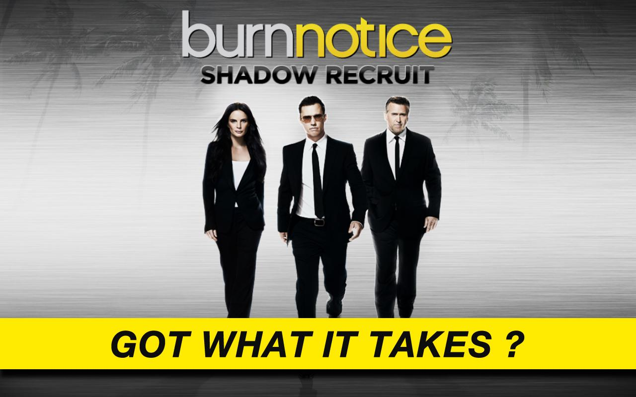 Burn Notice: Shadow Recruit - screenshot