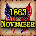 1863 Nov Am Civil War Gazette