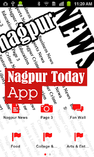 Nagpur Today News- screenshot thumbnail
