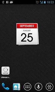 Calendar uccw skin- screenshot thumbnail