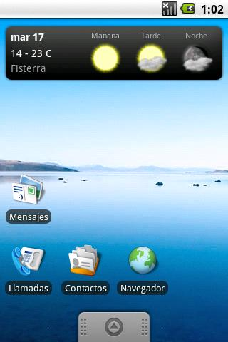 OTempo - Galician weather - screenshot