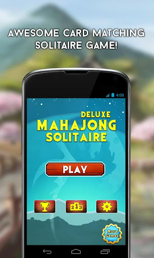 Mahjong Solitaire Puzzle Game