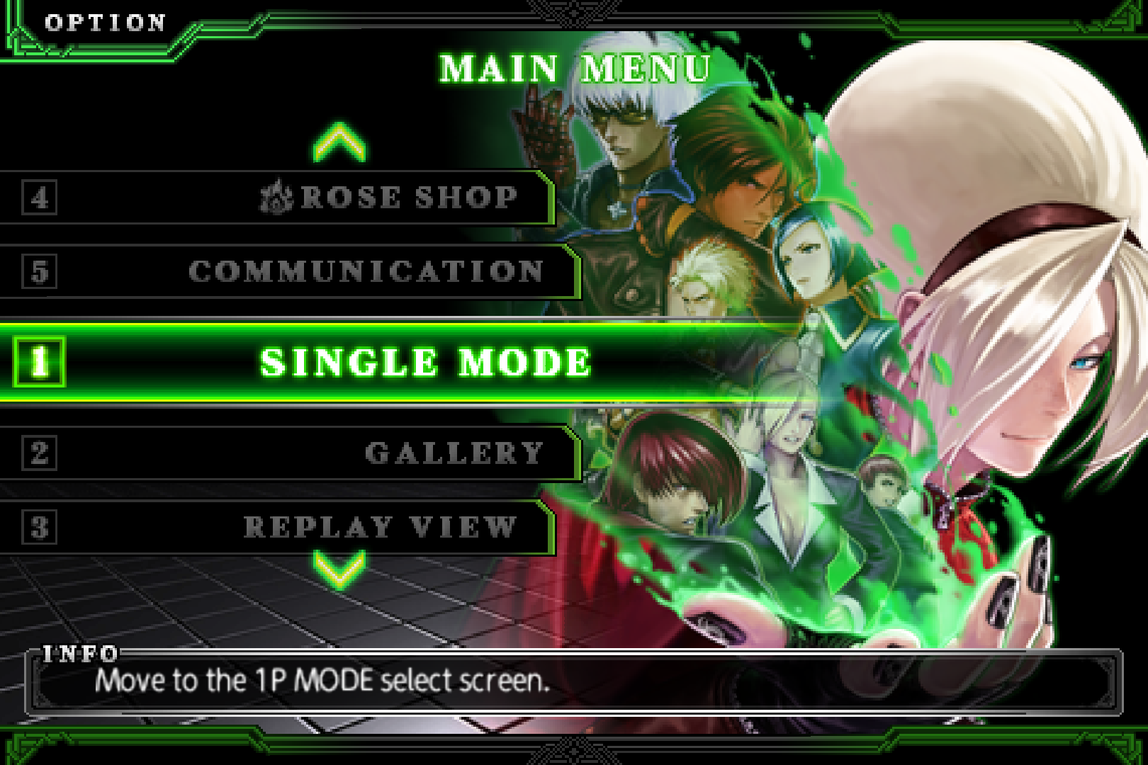 THE KING OF FIGHTERS-A 2012 screenshot #1