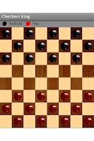 Screenshot of Checkers King Free For Tablet