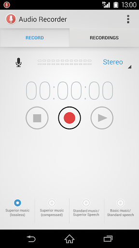 Audio Recorder