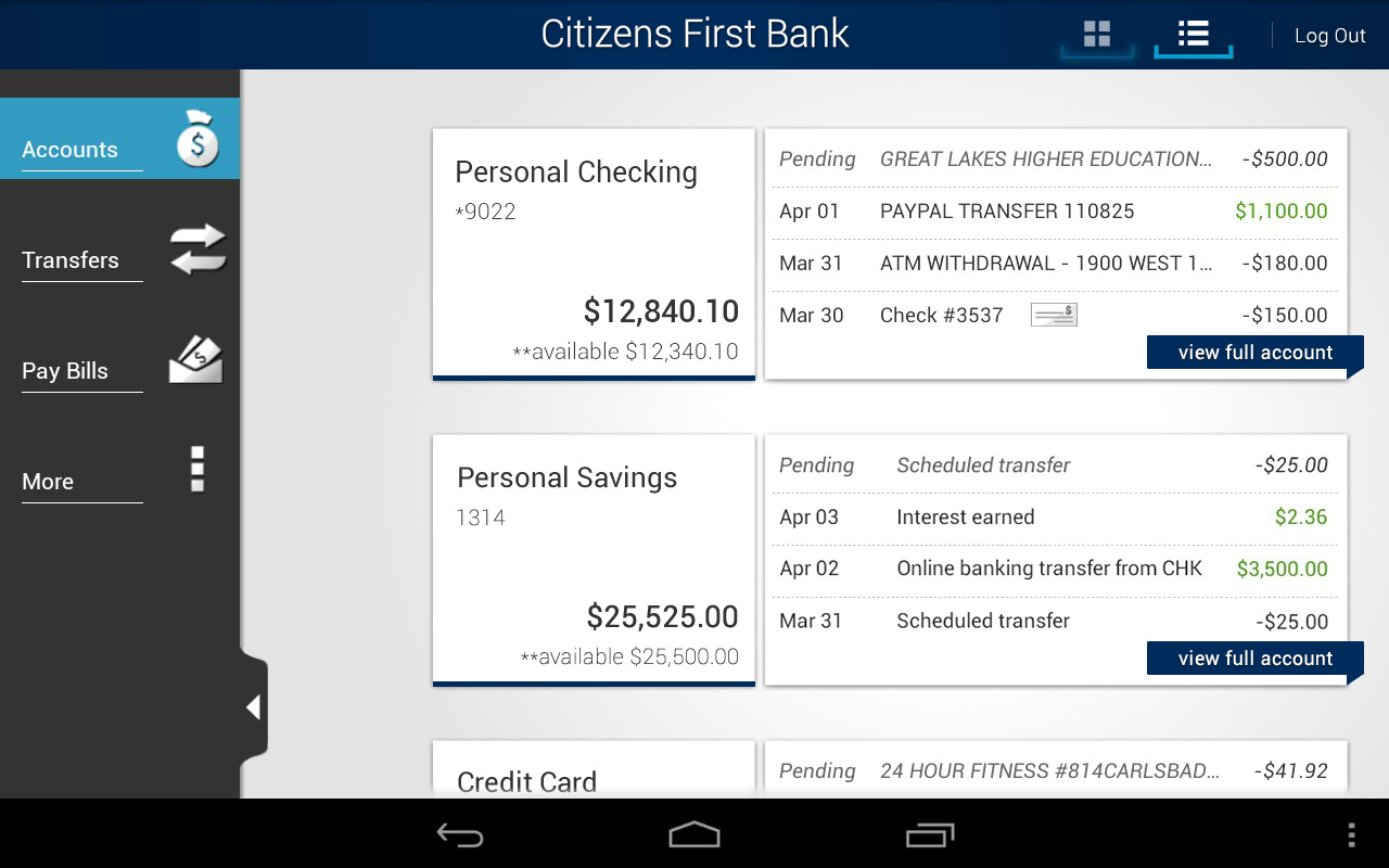 Citizens First Bank Mobile Android Apps on Google Play