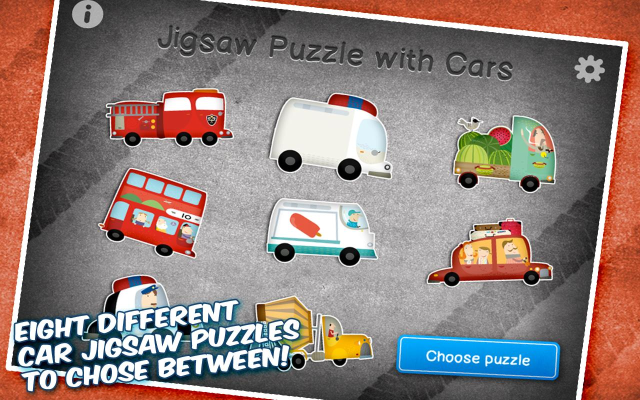 Jigsaw Puzzle with Cars- screenshot