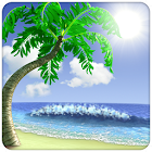 Lost Island 3d free icon