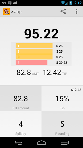 Tip calculator - ZzTip