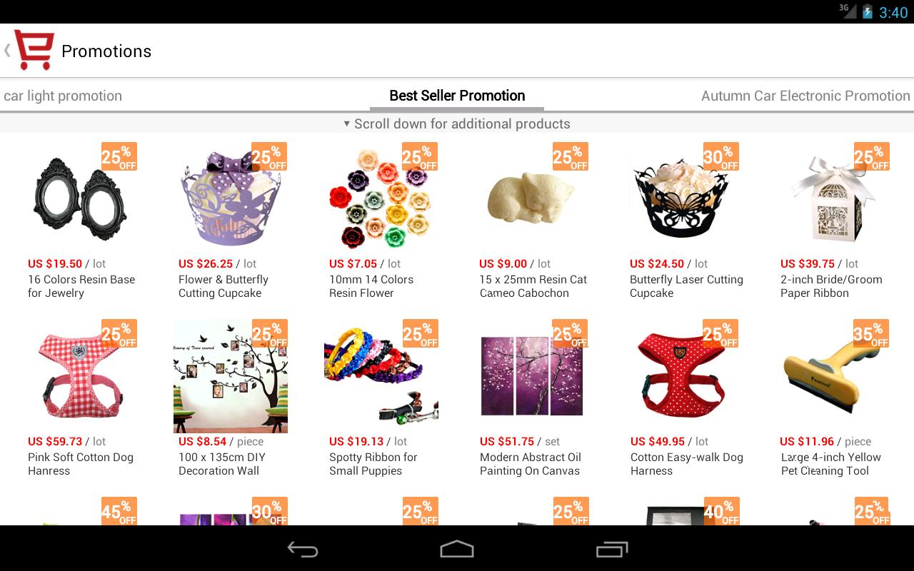 AliExpress - screenshot Aliexpress