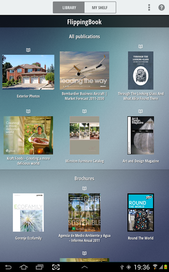 FlippingBook Reader- screenshot