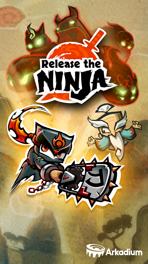 Release the Ninja - screenshot