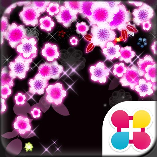 个人化のSAKURA NEON for[+]HOMEきせかえ LOGO-記事Game