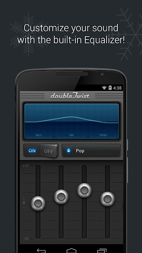 doubleTwist Music Player, Sync