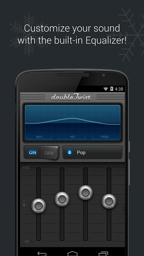doubleTwist Music Player, Sync- screenshot